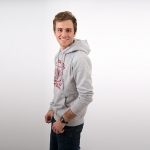 Sweat Gris / Rouge Homme