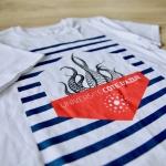 Tee-shirt manches courtes unisexes Blanc