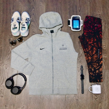 Sweat Capuche Zippé Nike